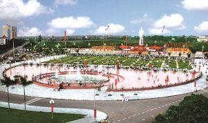 quảng trường Hồ Chí Minh - Xứ Nghệ