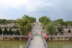 Nghĩa Trang Việt Lào tai Anh Sơn Nghệ An