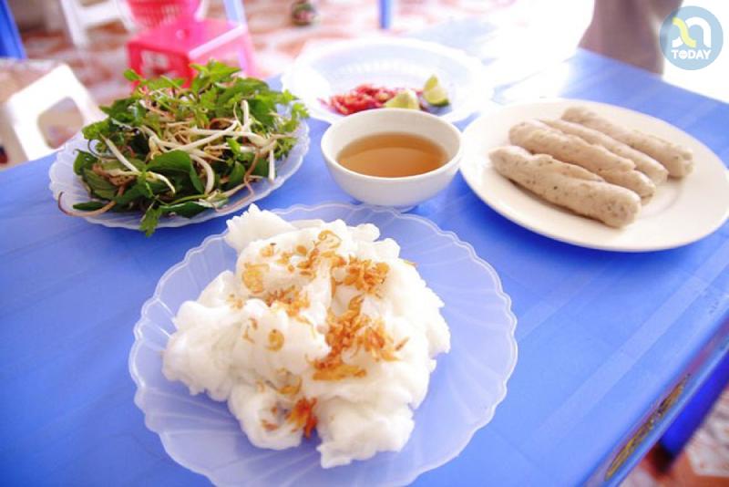 Bánh mướt Diễn Châu - Món ăn đặc sản Nghệ An
