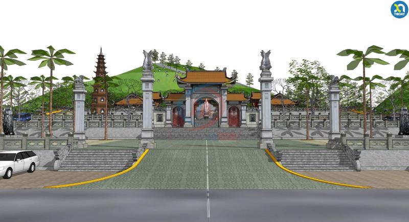 Chùa Chung Linh - Chùa Ở Nghệ An