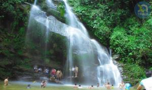 Thác mưa Thanh Chương điểm du lịch Hoang sơ 1