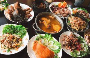 Các món dê nhà hàng Tài Nguyên