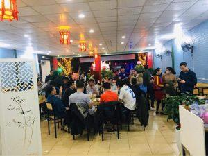 Khung cảnh nhà hàng Thái Bình