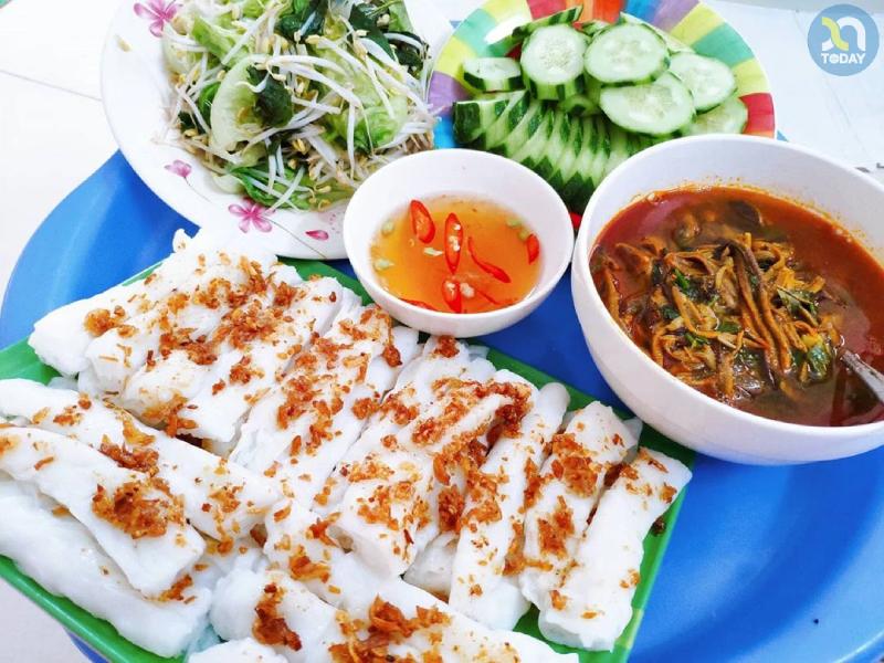 Bánh mướt đặc sản của Nghệ An