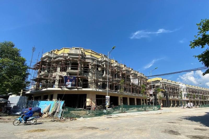 Chợ Kim Sơn mới xây