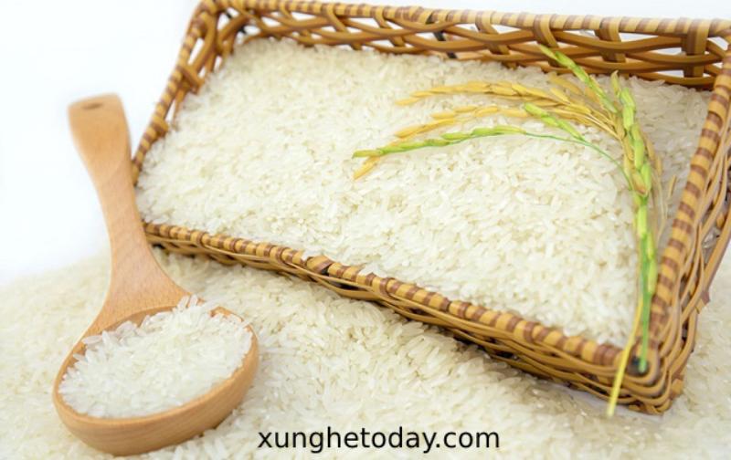 Gạo làm bánh mướt Xứ Nghệ