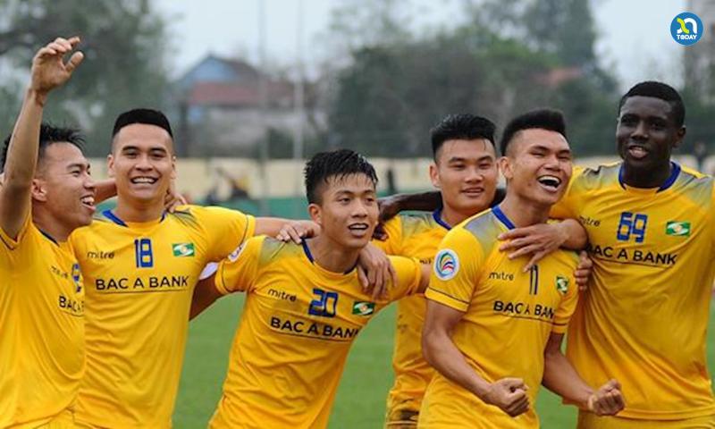 câu lạc bộ sông lam Nghệ An Vleague 2021