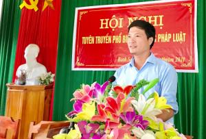 Nguyễn Thành Trung cán bộ của dân