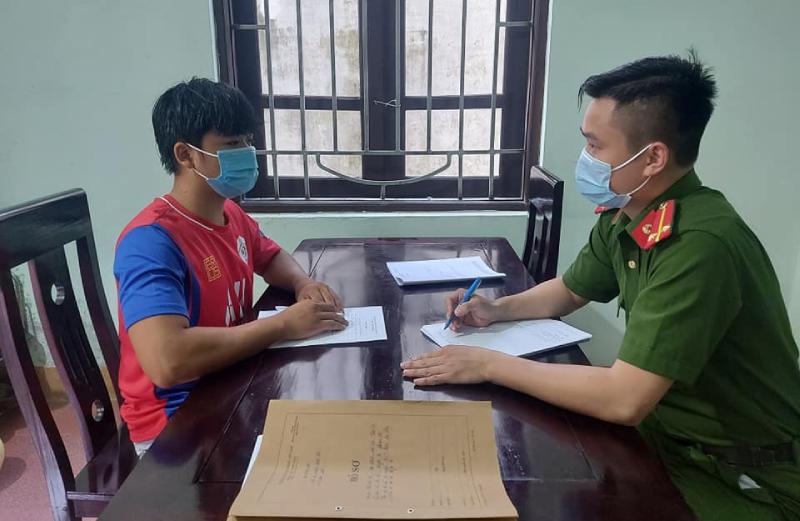 Trộm cắp tài sản tại huyện Anh Sơn