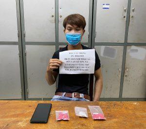 Công an huyện Kỳ Sơn bắt giữ đối tượng ma túy