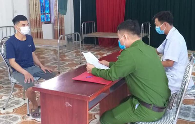 xử phạt đối tượng trốn cách ly Lê Văn Thành