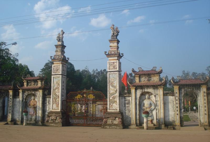 Đền Quả Sơn địa danh đất học nổi tiếng Nghệ An
