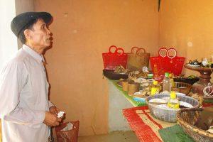 Lễ vật mâm cúng tết Đoan Ngọ của người Thái ở Nghệ An