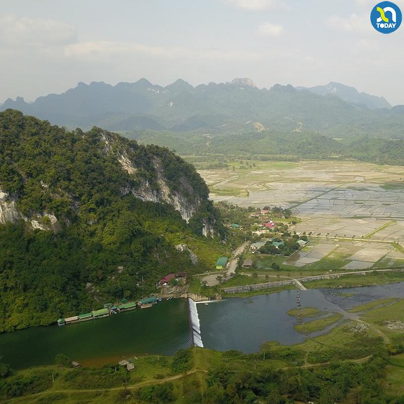 Du lịch Con Cuông đập Phà Lài