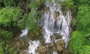 Du lịch Tân Kỳ với thác Hồng Sơn