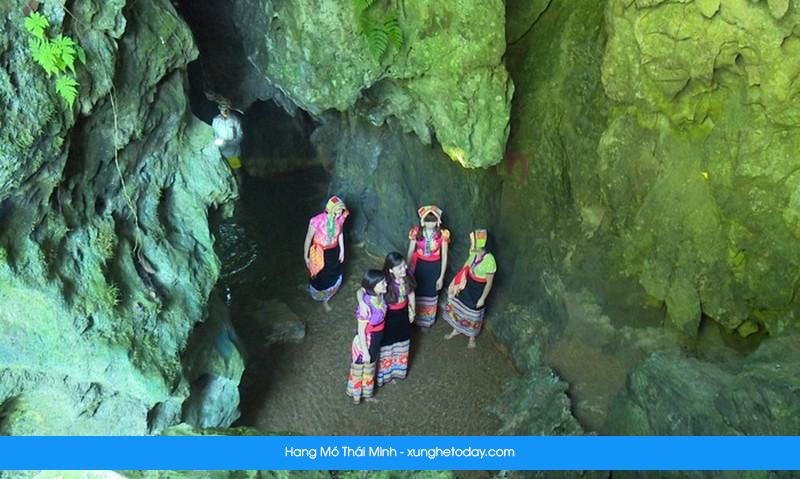 Hang Mó Thái Minh - Điểm du lịch Tân Kỳ nổi tiếng