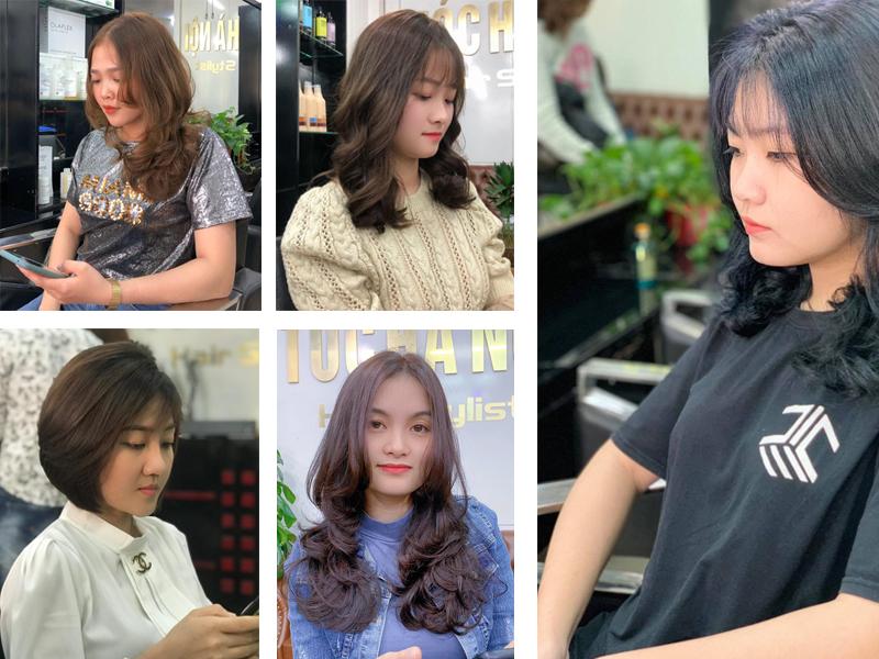 TÓC HÀ NỘI Hair Stylist salon làm tóc Nữ đẹp ở Vinh