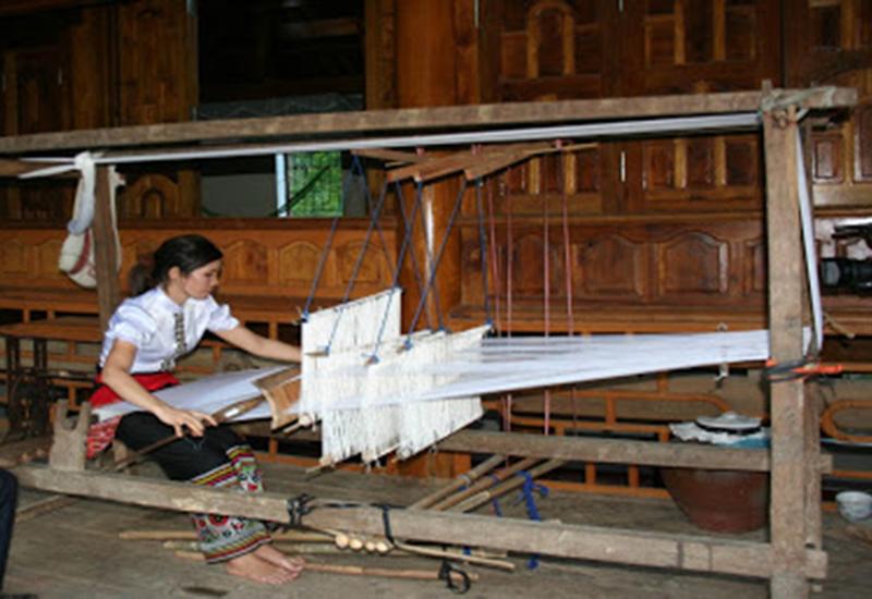Nghề dệt bản Thái Cổ - Mường Đán 1