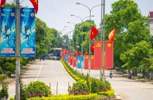 Thị trấn Lạt Đường mòn Hồ Chí Minh