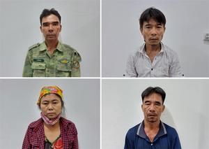 Công an huyện Anh Sơn bắt giữ 4 đối tượng trộm cắp tài sản