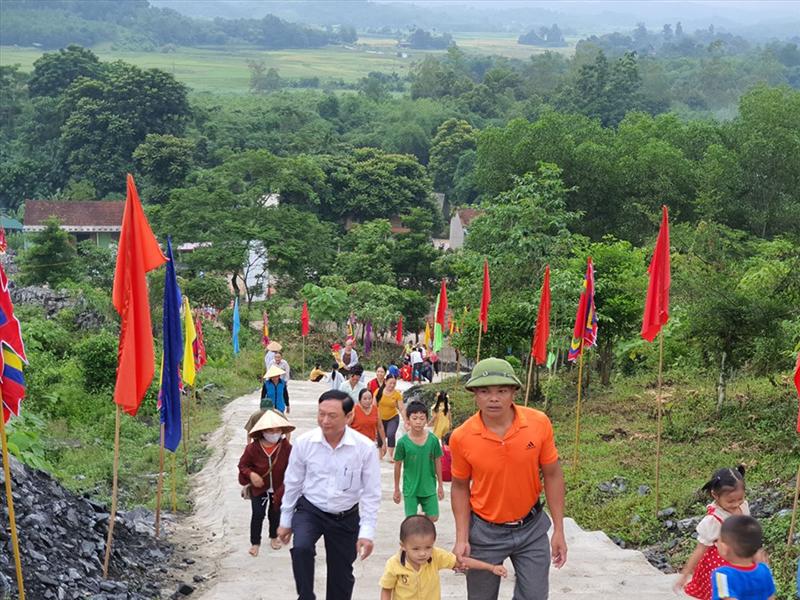 Lễ hội Bươn Xao tại xã Tiên Kỳ huyện tân Kỳ