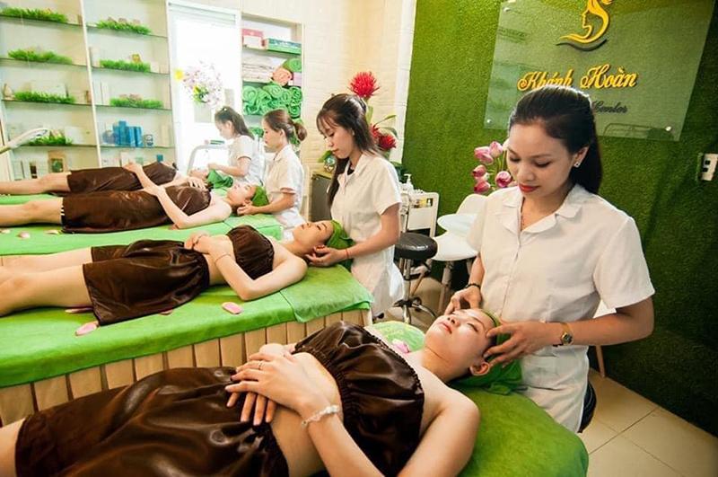 Viện tóc & spa Khánh Hoàn