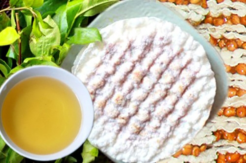 Kẹo cu đơ Hà Tĩnh - nước chè xanh