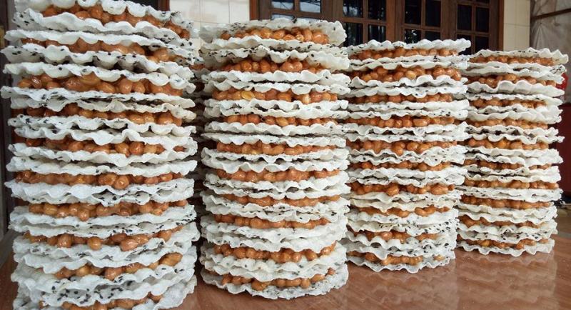 Kẹo cu đợ ẩm thực Hà Tĩnh nổi tiếng