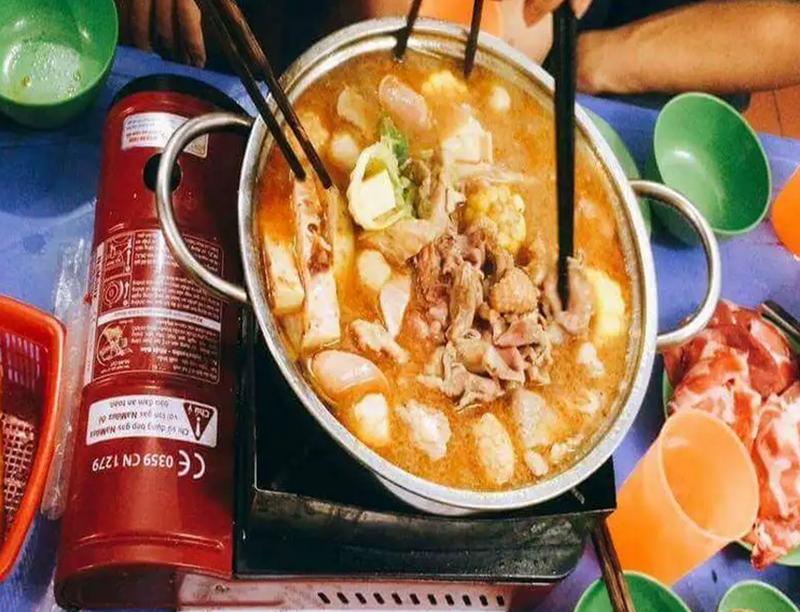 Nhà hàng nổi tiếng ở Hà Tĩnh lẩu thìn