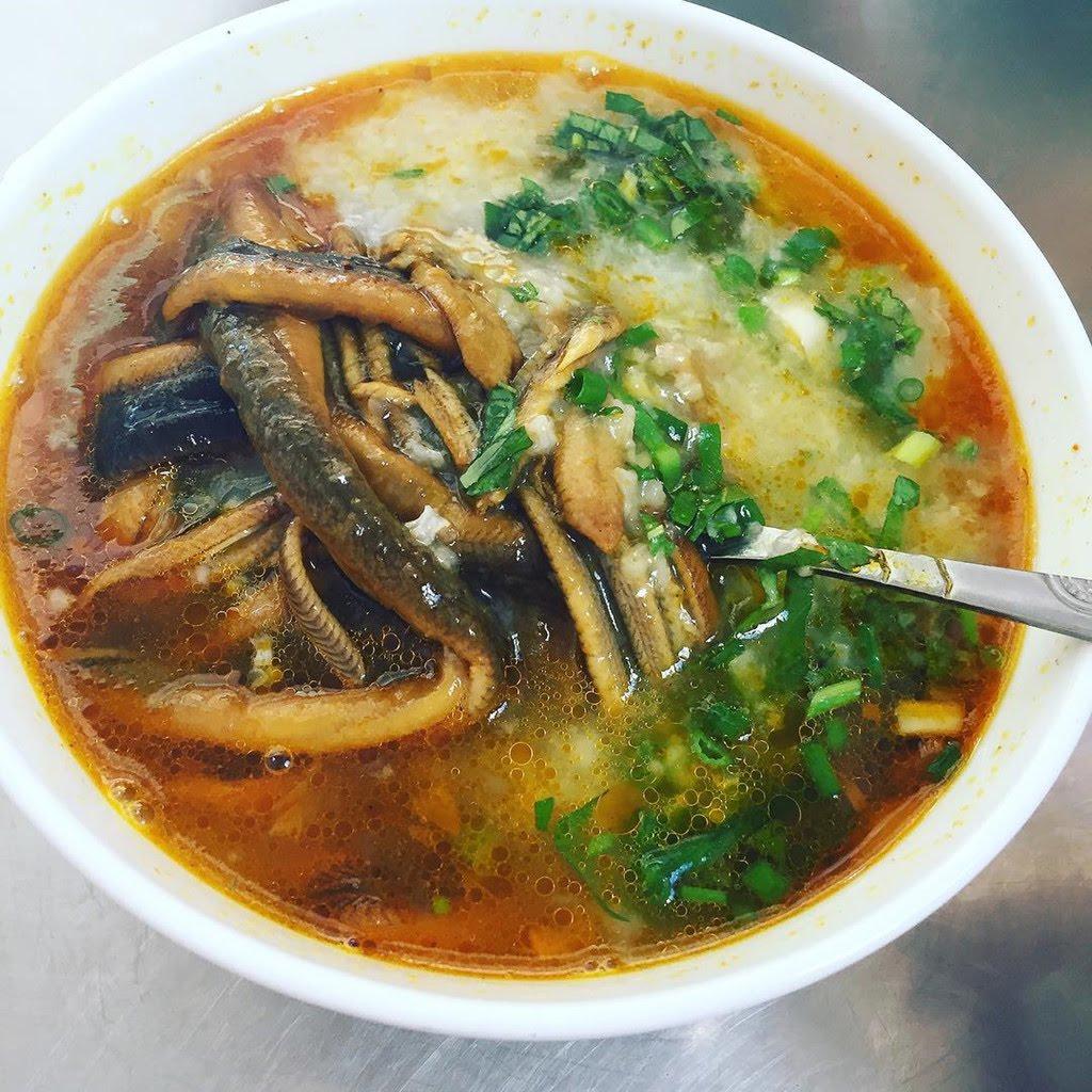 Quán ăn ngon ở Hà Tĩnh Cháo lươn A Truyền Hà Tĩnh
