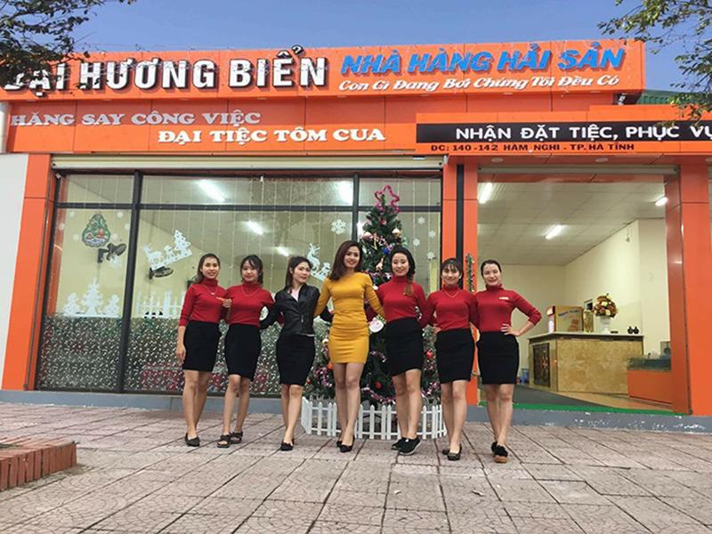 Quán ăn ngon ở Hà Tĩnh - Nhà hàng Đại Hương Biển