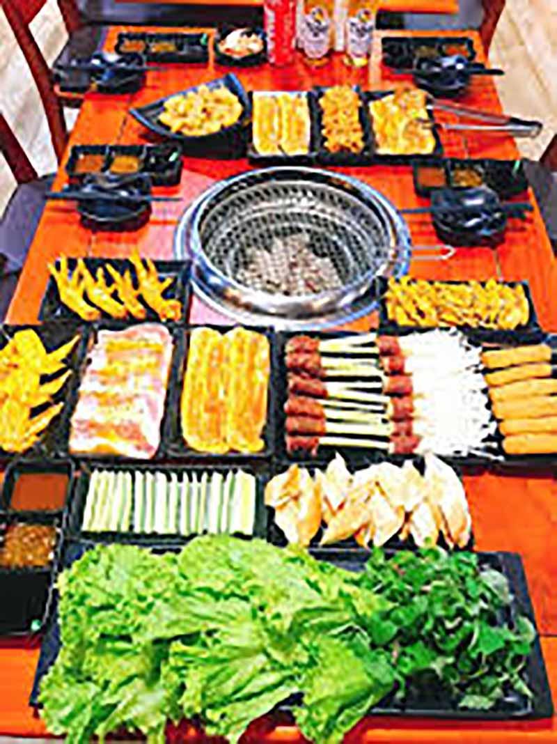 Quán ăn ngon ở Hà Tĩnh quán nướng 103