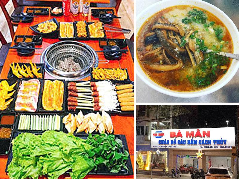 Quán ăn ngon ở Hà Tĩnh