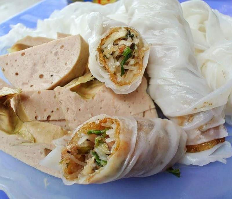 Ram bánh mướt Hà Tĩnh - Món ăn bình dị ở Hà Tĩnh