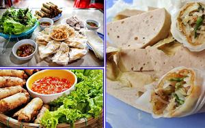 Ram bánh mướt Hà Tĩnh - Món ngon ở Hà Tĩnh - Món ăn bình dị ở Hà Tĩnh