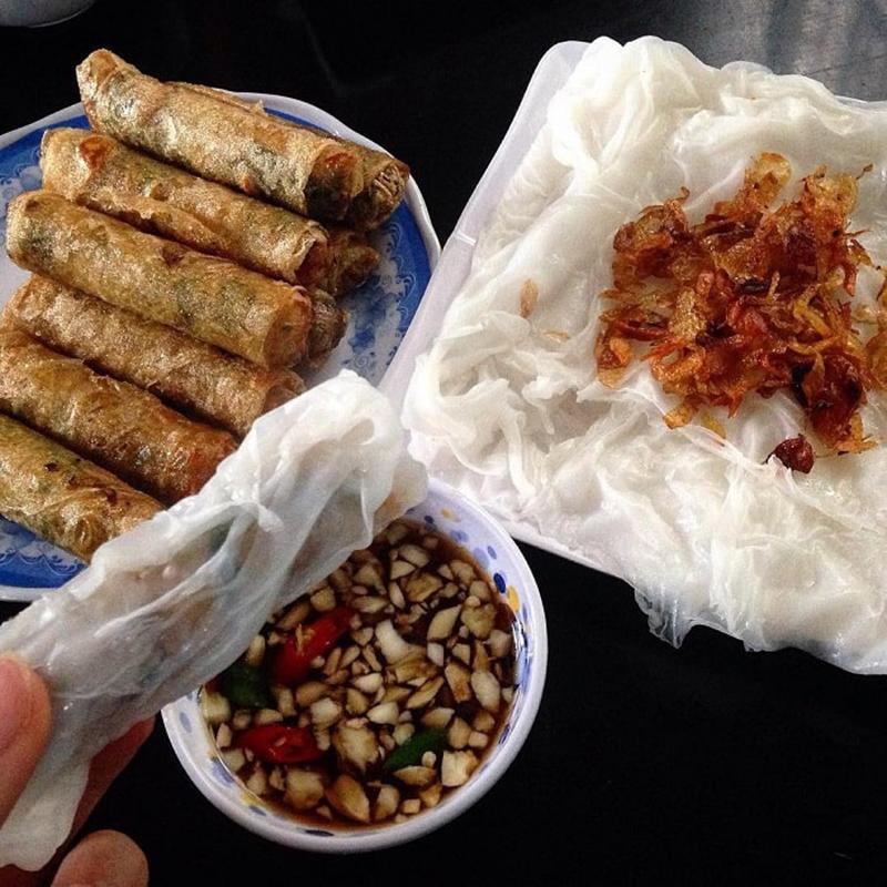 Ram bánh mướt ẩm thực Hà Tĩnh nổi tiếng