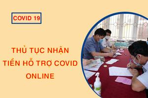 cách đăng ký Nhận tiền hỗ trợ covid 19 online tại nhà