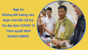 Cách nhận tiền hỗ trợ Covid 19 ở Nghệ An