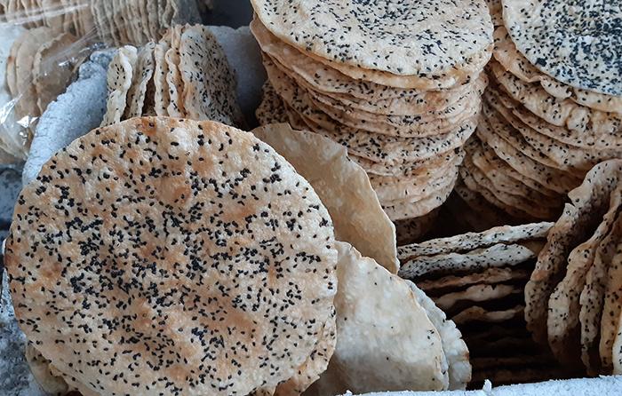 Đặc sản Nghệ An Hà Tĩnh Bánh Đa Vừng Hà Tĩnh