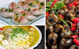 Quán ăn vặt Hà Tĩnh